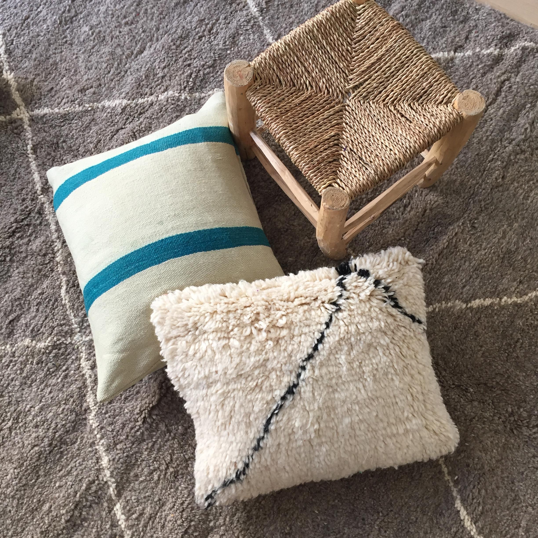 coussin berb re boutique hector et babel. Black Bedroom Furniture Sets. Home Design Ideas
