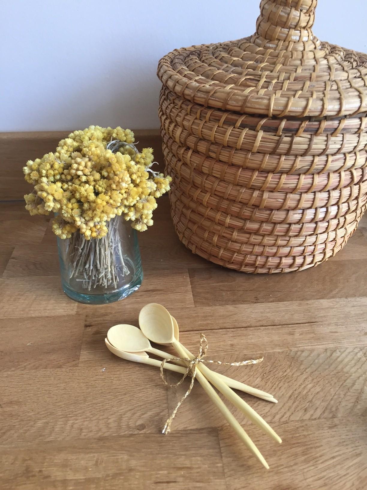 Cuillère à épices en bois de citronnier