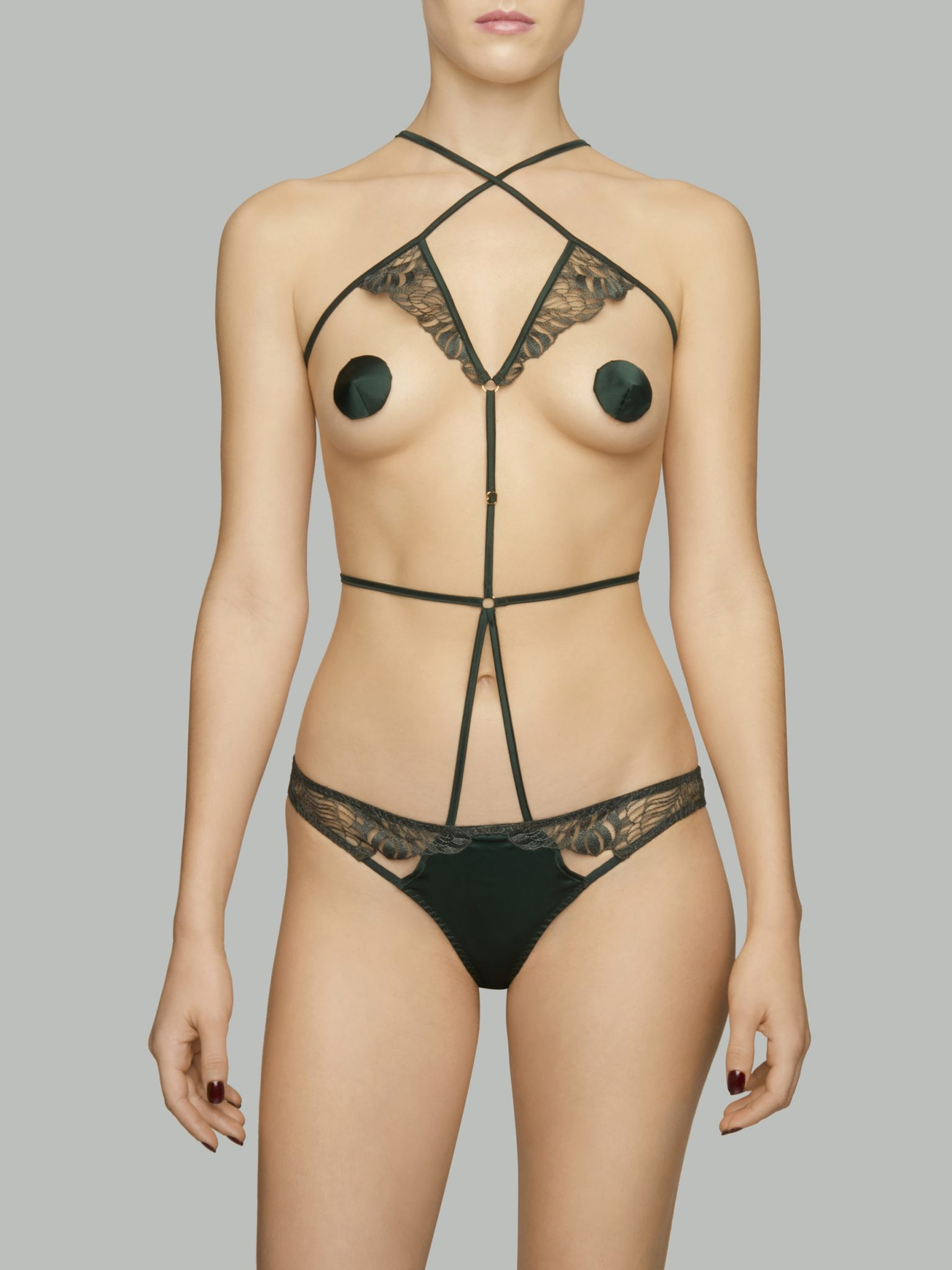 Frieda body harnais by Coco de Mer