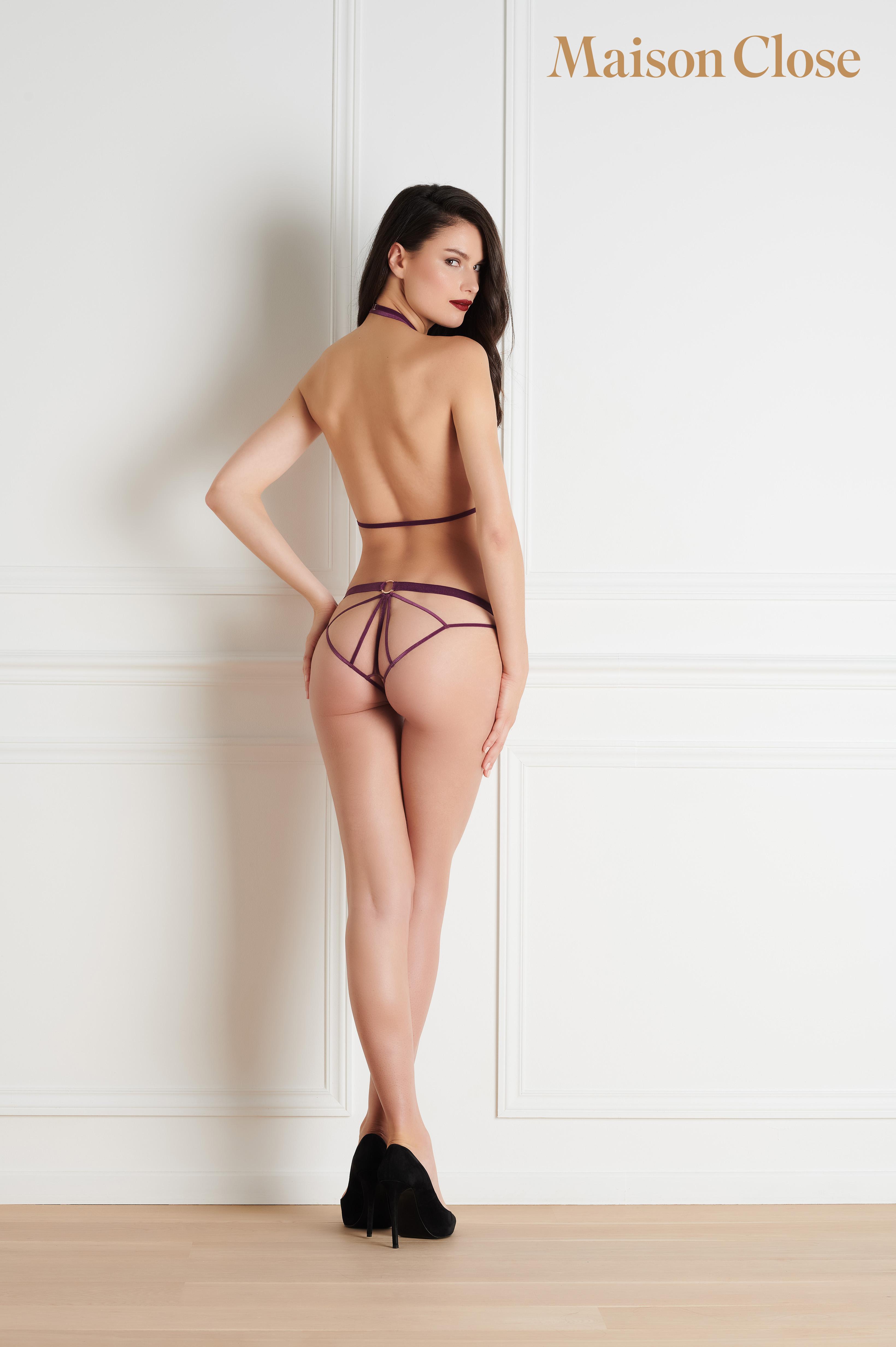 Coup de Foudre culotte ouverte Maison Close