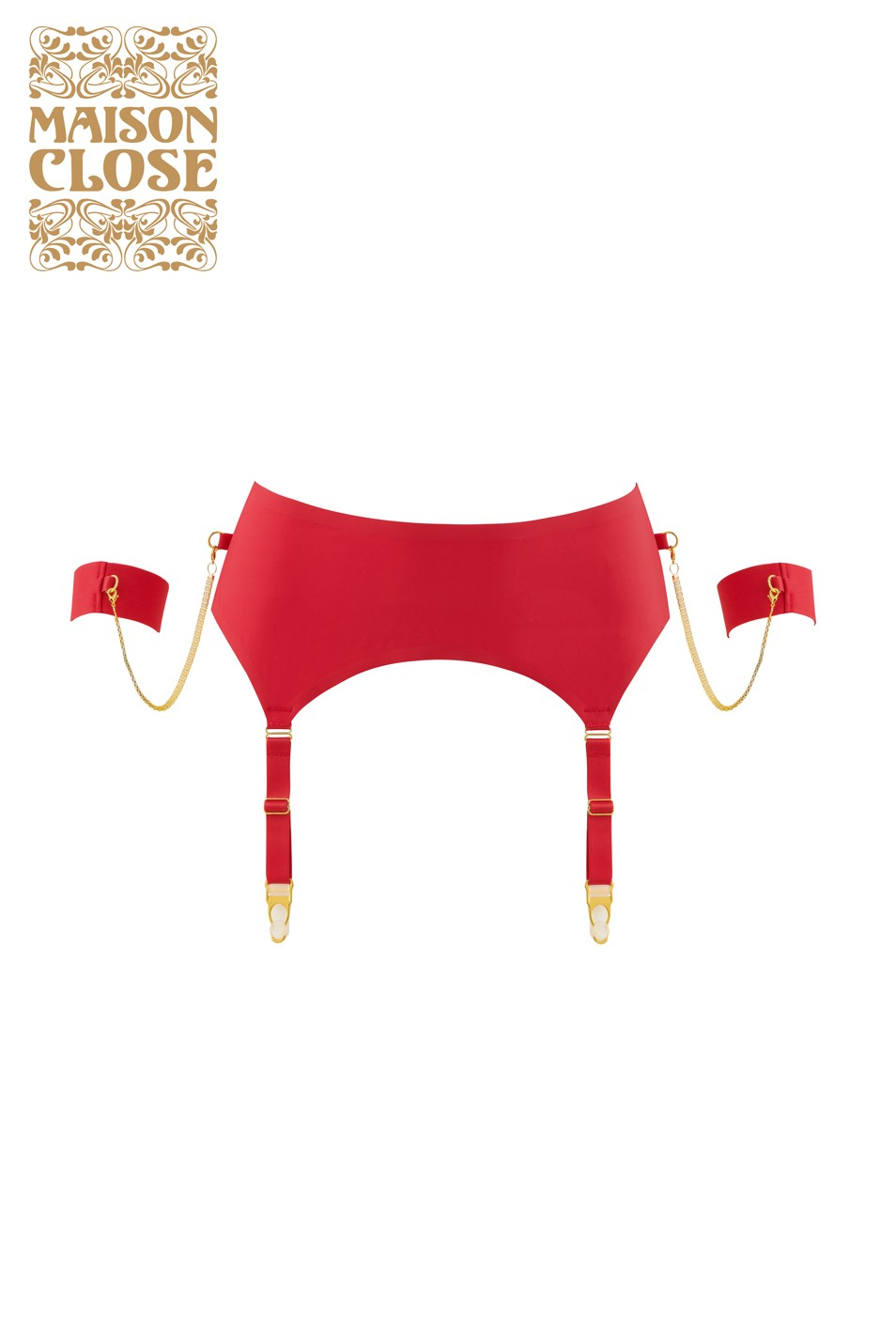 Tapage Nocturne Porte-jarretelles rouge Maison Close