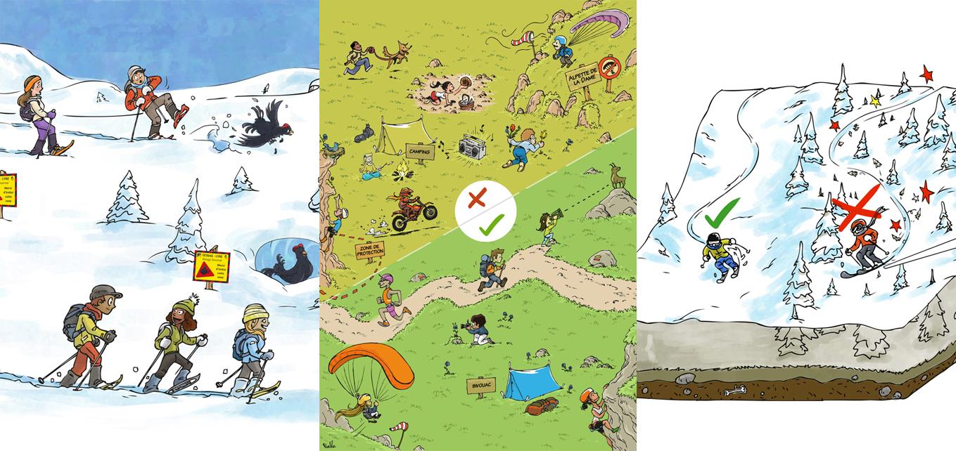 environnement illustration pedagogie grenoble meylan le pueblo