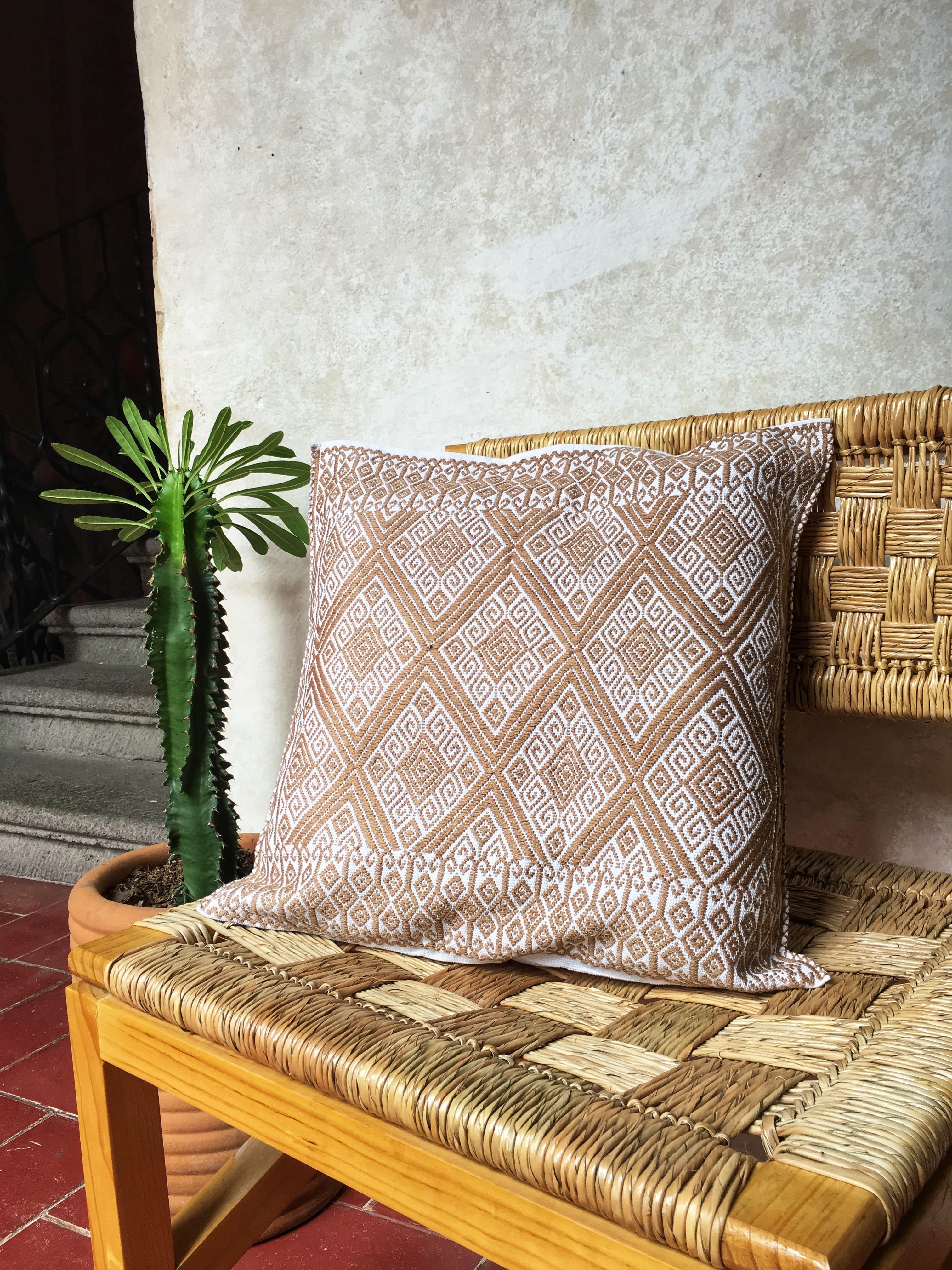 Housse de coussin Maya